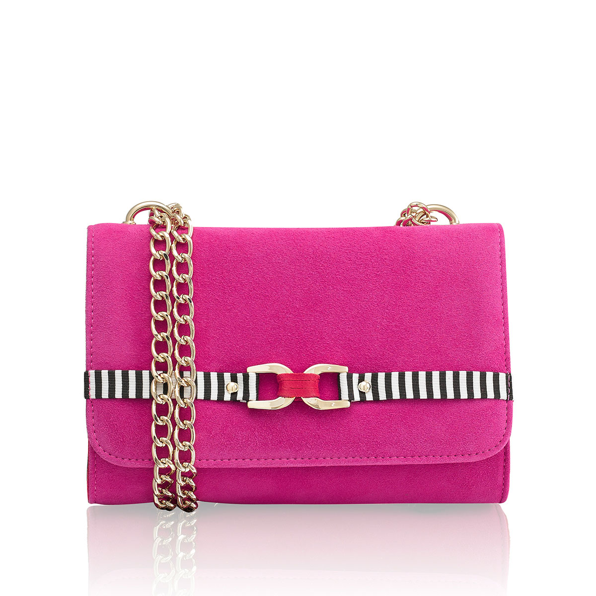 Russell And Bromley LINK UP Chain Handle Shoulder Bag