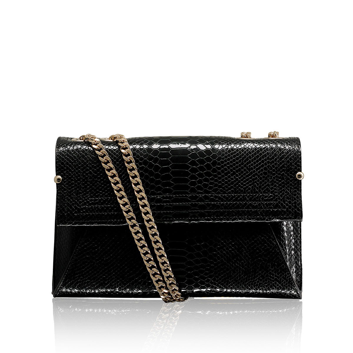 Russell And Bromley SW LUMIERE Chain Shoulder Bag