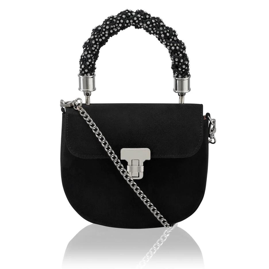 Russell And Bromley JEWEL MOON Jewel Handle Mini Bag