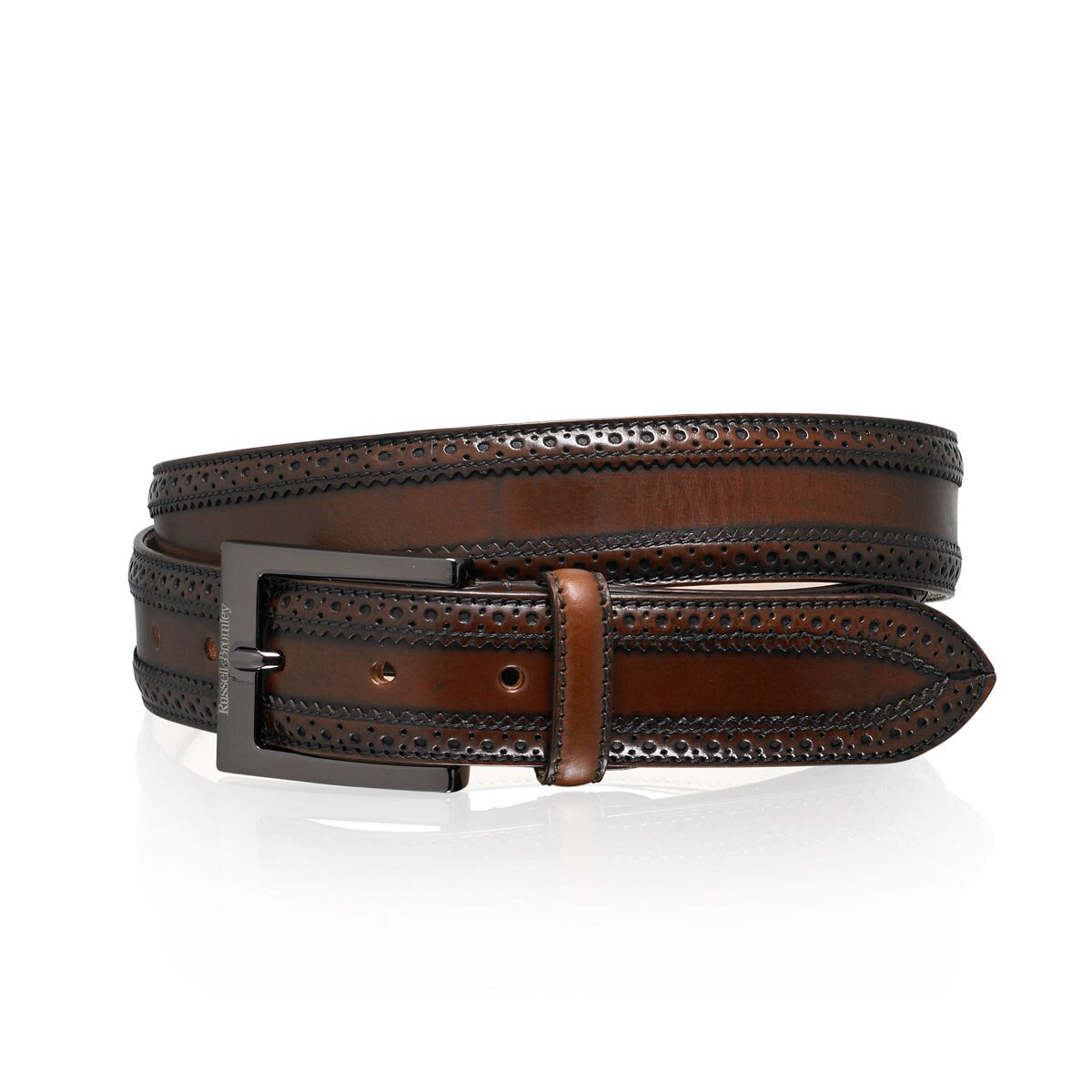 OAK Antique Brogue Belt