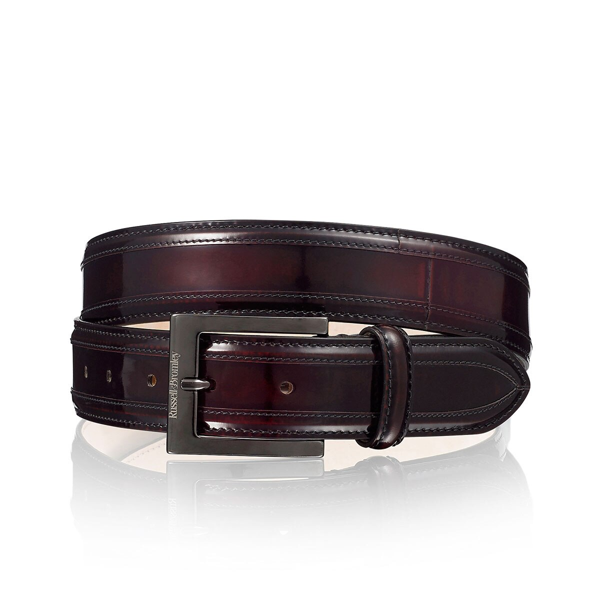 DOLCE Buckle And Keeper Belt