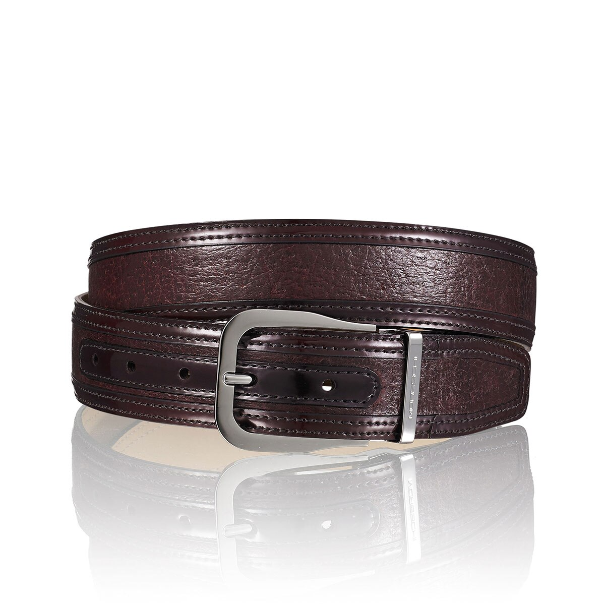 LUGANO Mens Peccary Belt