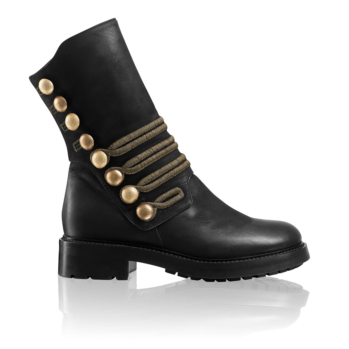 Russell And Bromley CRAZYFROG Military Biker Boot