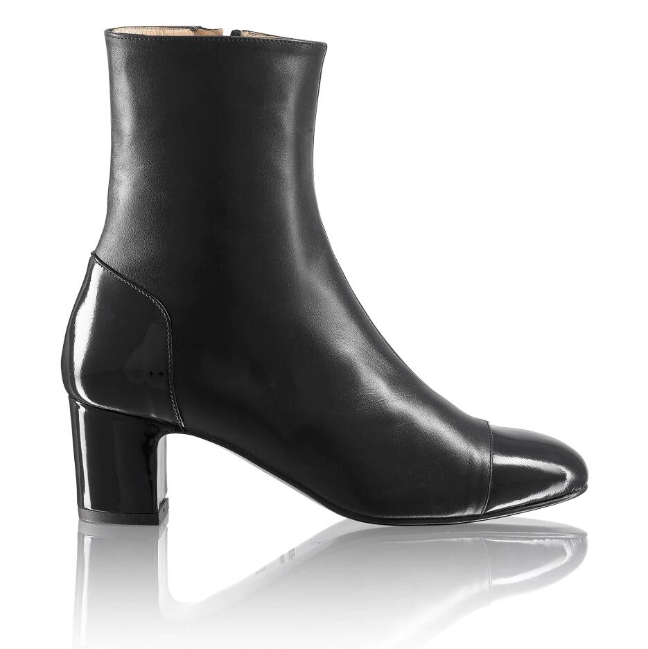 Russell And Bromley JEANIEBOOT Toe-Cap Mid Heel Boot